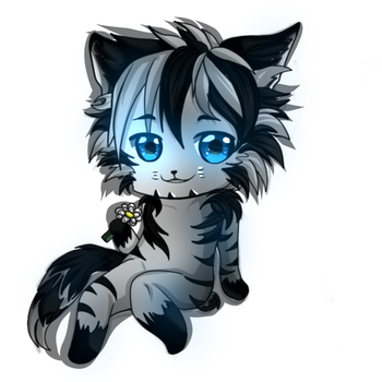 Chibi Munkustrap by Darkbloodredmoon