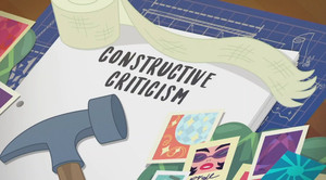 MLP EQG Constructive Criticism  part Name by Wakko2010