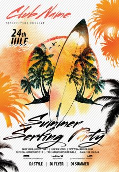 Summer-serfing-party by Styleflyers