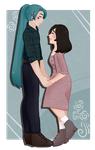 [ with you ] by hello-planet-chan