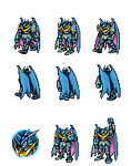 Ulforce V-dramon FM -DS Sprite by Zeromaru-x