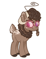 Lil deer   Auction   Open by Spacei-Adopts