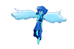 Lapis flying by popinat