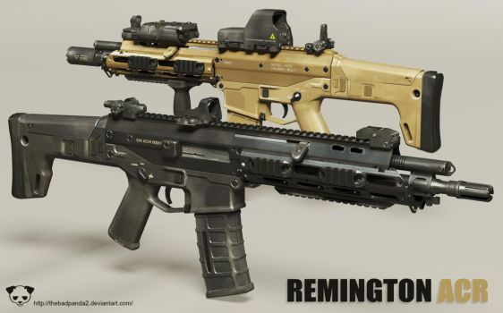 Remington ACR by TheBadPanda2