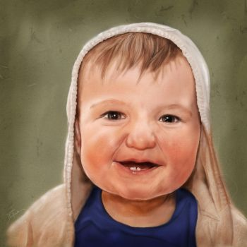 Portrait of my Son by dctuck