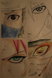 Naruto - Team 7 W.I.P by Alishay1993