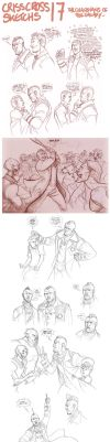 Criss-Cross Sketchs 17 by the-evil-legacy