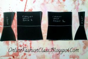 Tutorial: Corselet Pattern by OnlineFashionClass