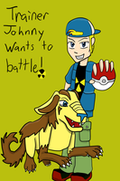 Trainer Johnny by Sonicchica