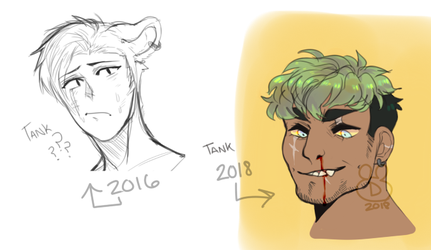 tank redraw 2016-2018 by screames