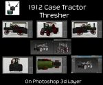 1912 Case Thresher Tractor 3840x2160 by Arthur-Ramsey