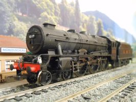 LMS Royal Scot No. 6117 Welsh Guardsman [1] by The-Orient-Express