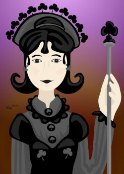Queen of Clubs 2009 by lehsa
