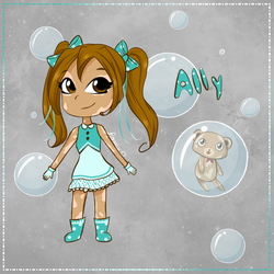 Original Characters- Ally by Floralix