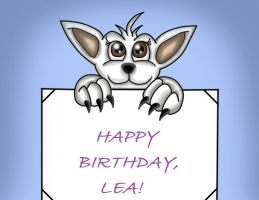 Little Birthday Gift for Lea by Creedovich