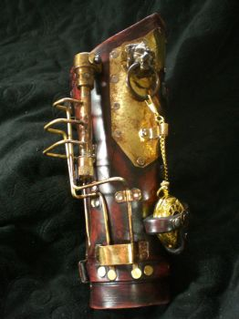 Steampunk Cuff Time of Ages by Skinz-N-Hydez