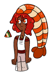 [Food Court Adopt] Shrimp Cocktail Unakite CLOSED by DualJewels
