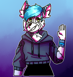 A icon for someone on scratch by Bluedrawingmachine