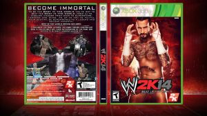 WWE 2K14 Cover - Best in the World Edition by ToHeavenOrHell