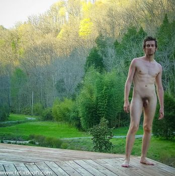 Male Nude Outdoors by TheMaleNudeStock