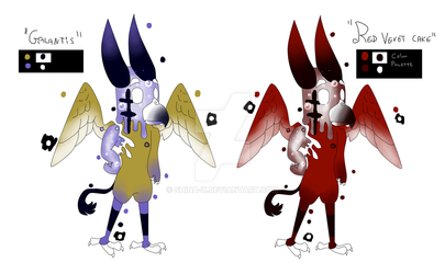 Galantis and Red vevlvet cake SODA POP ADOPTS 2/2 by Shina-X
