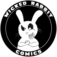 Wicked Rabbit Comics Logo by Vigorousjammer