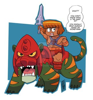 He-man Or Something by iq40