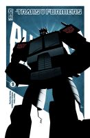 All Hail Megatron Cover 9 by trevhutch