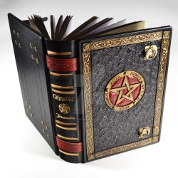 The Great Grimoire - 12,4 x 9,1 inches journal by alexlibris999
