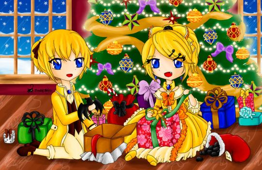 It's Christmas in Lucifenia (2014) by Hoshi-Wolfgang-Hime