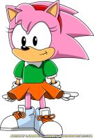Classic Amy Rose by Advert-man
