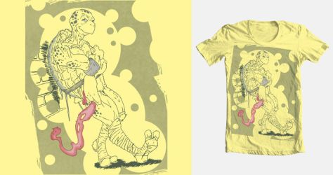 TEENS IN '84, FORTIES IN '13 Threadless Tee Design by RyanBayliss