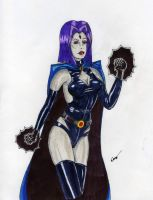 Raven adult new outfit by gustorak