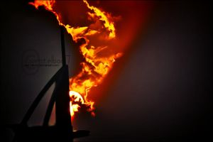 BURJ EL ARAB ON FIRE by semt-elboo7