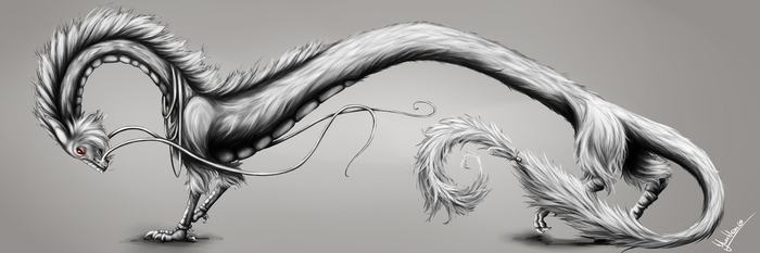 Dragon Painting Practice No. 2 by wyum