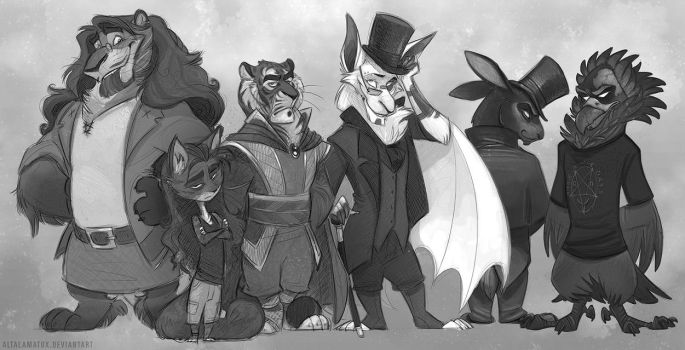 Critter Crew by Altalamatox