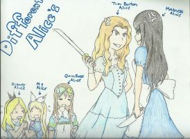 Different Alice's by BDOG375