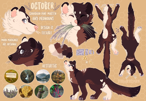 October reference by s-trawberrymilk
