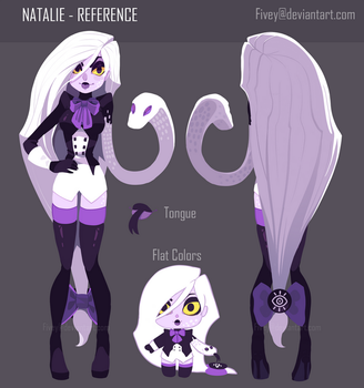 Natalie - Reference Sheet by Fivey