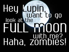 Snape loves the moooooon. by amethystsmile870