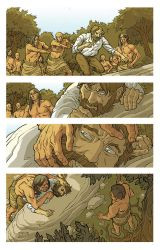 Pocahontas and John Smith Page 10 Colors by JerMohler