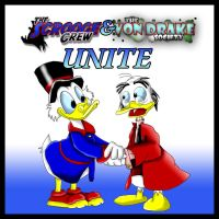 Scrooge and Ludwig UNITE by UncleLaurence