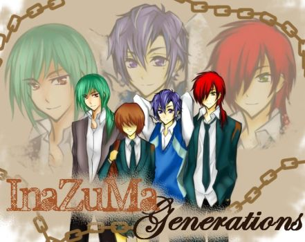 Inazuma Generations VN by 3leavesclover