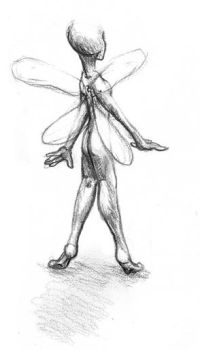Tinker Bell by InkyDinkyWho
