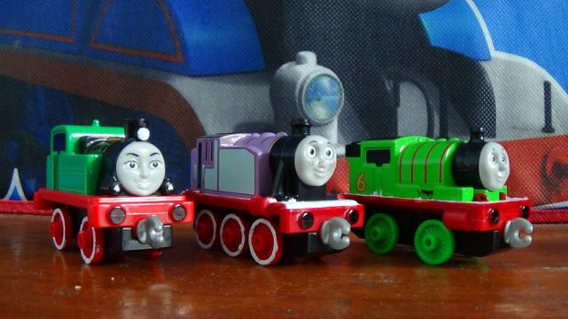 Adventures Gina, Rosie and Percy (After Custom) by ThomasZoey3000