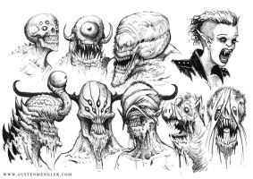 MONSTERS 04 by AustenMengler