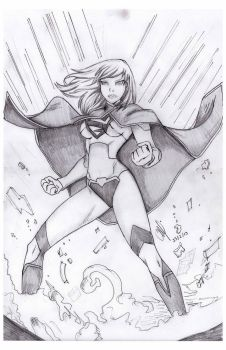 supergirl new 52 by LeslieSalas