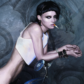 Rooney mara (The girl with the dragon tattoo) by PVersus