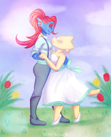 UT: Alphyne Commish by black-feather1013