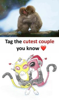 Tag the cutest couple you know by GiLawTheSparky